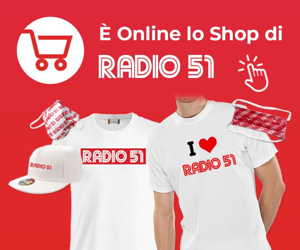 Shop Radio 51 Quadrato Mascherine